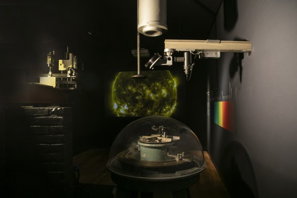 De Zonnespectrograaf van Sonnenborgh uit 1918
