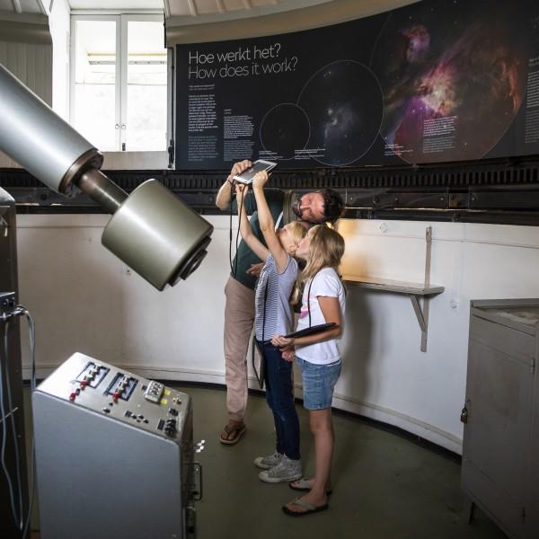 Star viewing at Sonnenborgh