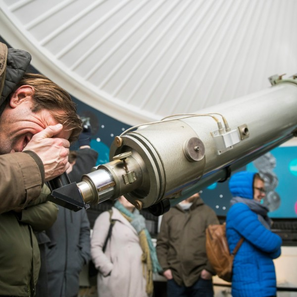 Star viewing at Sonnenborgh