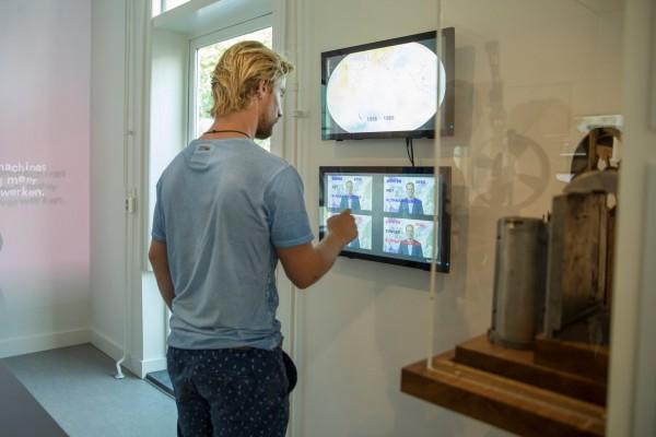 De tentoonstelling Meten = weten! van Sonnenborgh