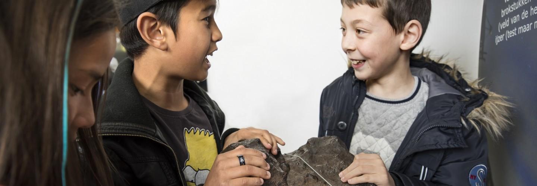 De grote meteoriet van Sonnenborgh van 4.5 miljoen jaar oud