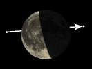 De Maan bedekt η Cancri