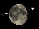 De Maan bedekt theta Ophiuchi