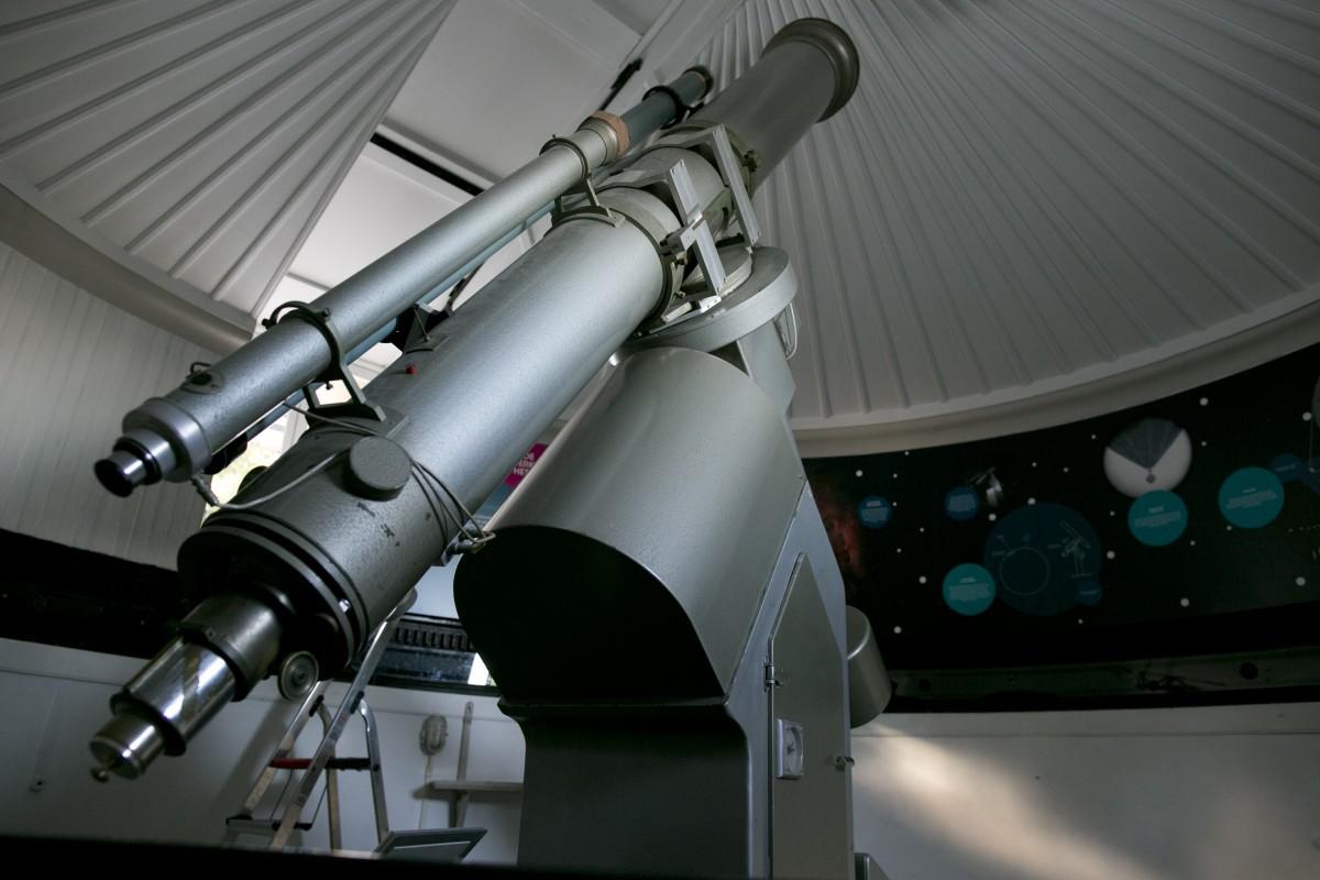 De Merz-telescoop uit 1863