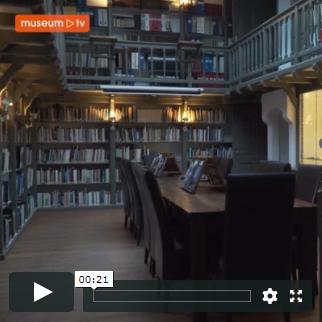 MuseumTv in de bibliotheek van Sonnenborgh