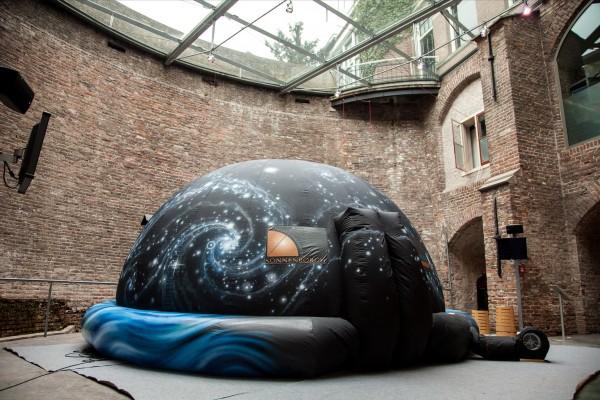het planetarium van Sonnenborgh