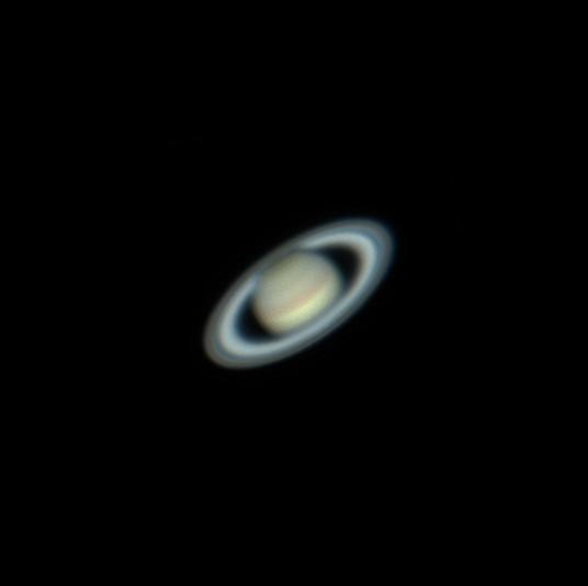 Saturnus - telescoopbeeld
