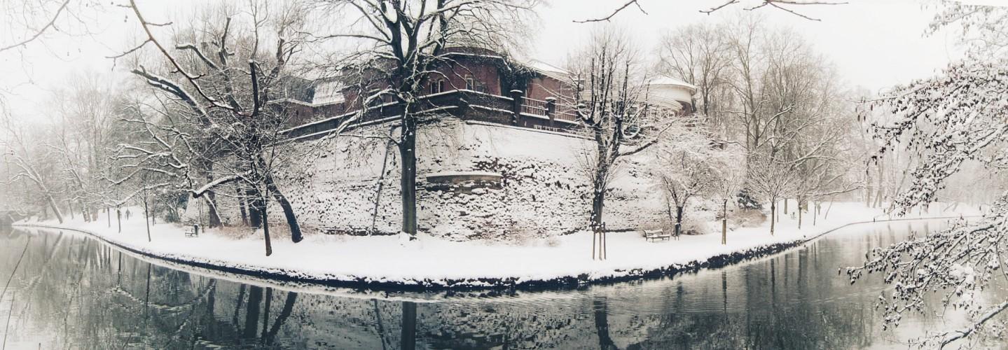 sonnenborgh in de sneeuw