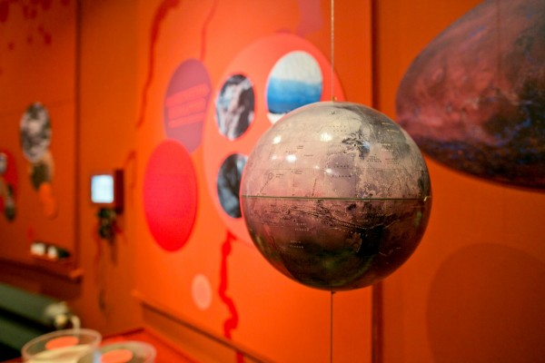 Exhibition on planet Mars at Sonnenborgh