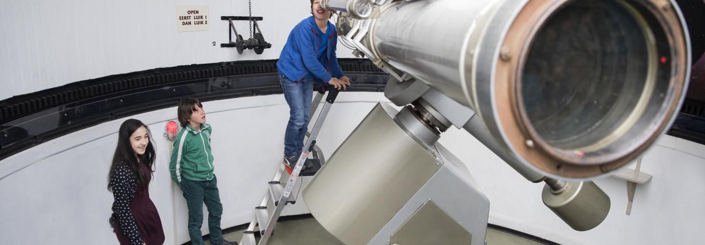Inschrijven jeugdcursus sterrenkunde