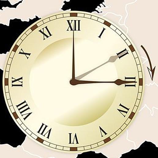 Klok gaat een uur vooruit